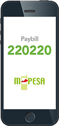 One Paybill for all your bills and Airtime - MPESA 220220